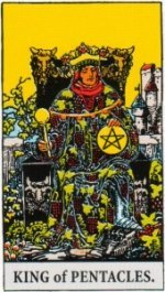 Card Two   King of Pentacles - Resourceful