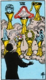 Card Two   Seven of Cups – Imagination