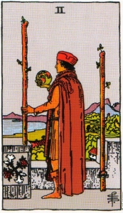Card Three   Two of Wands - Independence