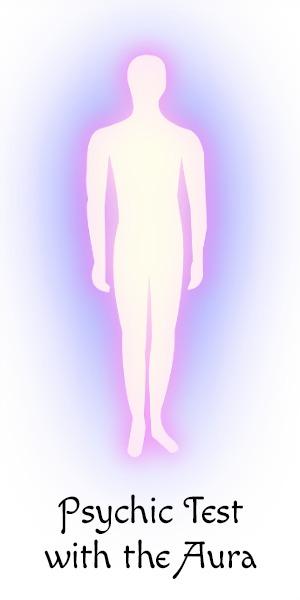 Clairvoyance Test with the Aura