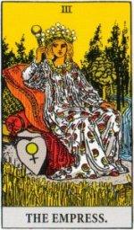 Card One   III - The Empress - Abundant