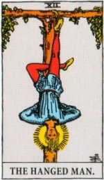 A TarotVision of the Hanged Man