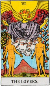 A TarotVision of the Lovers