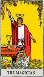 A TarotVision of the Magician