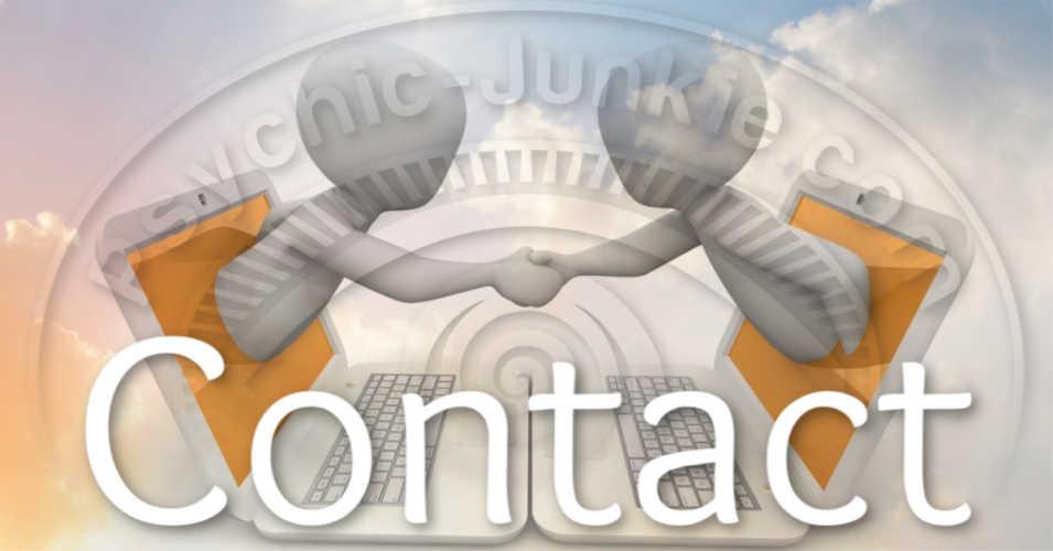 Contact Ian Parkin - Psychic Junkie Webmaster