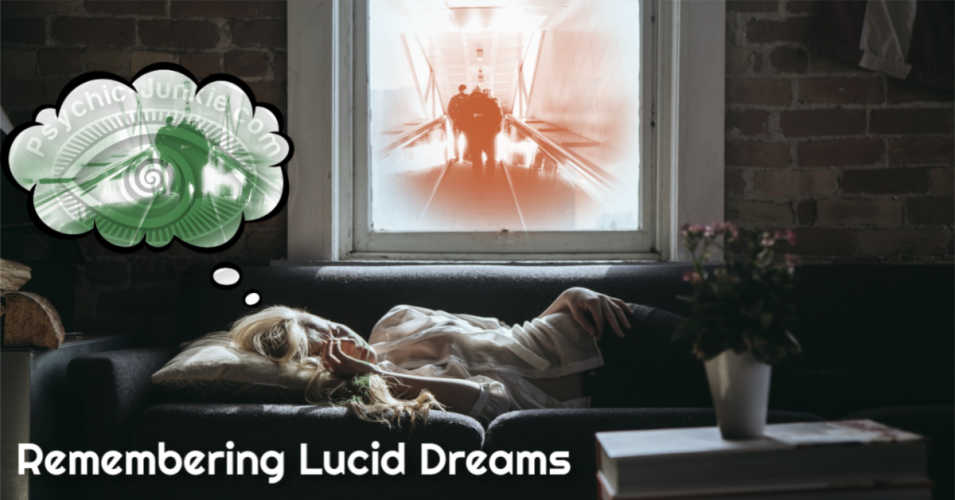 Chapter Four - Remembering Lucid Dreams