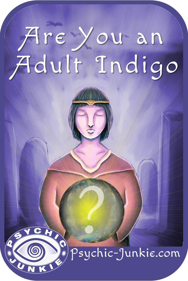 Adult Indigo Person
