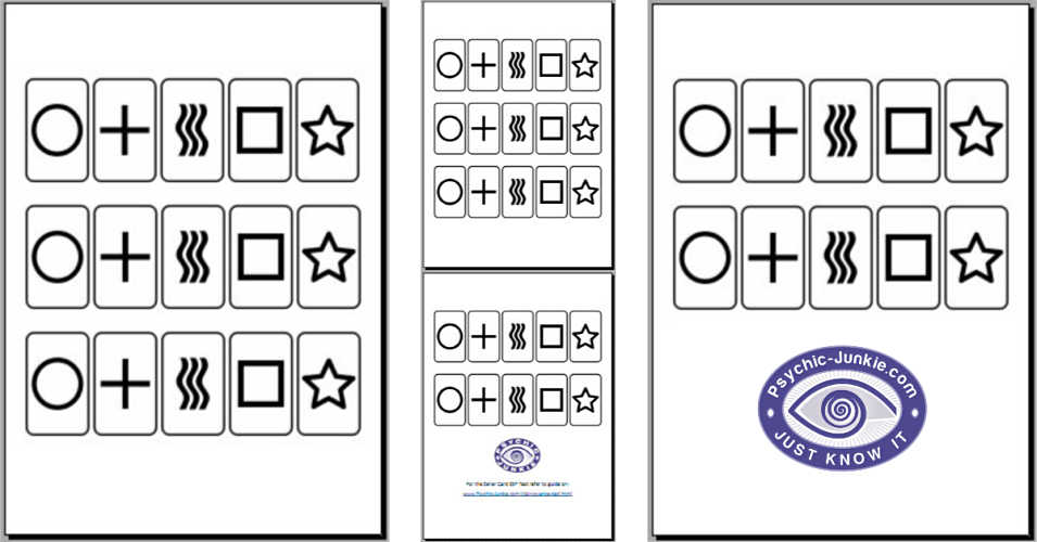 Free Download ESP Cards from inside Psychic Circle Members Page