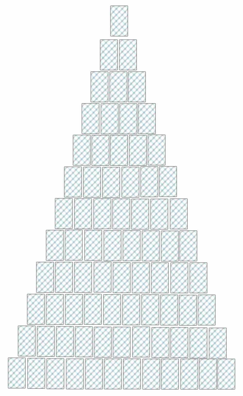 Full Pyramid Tarot Reading Spread