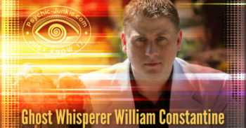 Psychic Medium and Ghost Whisperer William Constantine