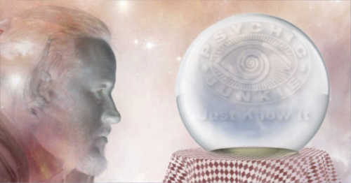 Know what a psychic sees in a crystal ball