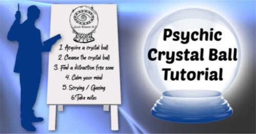 Psychic Crystal Ball Tutorial