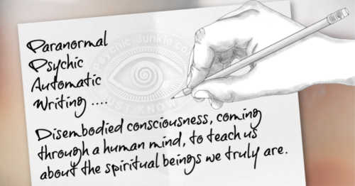 How To Do Paranormal Psychic Automatic Writing