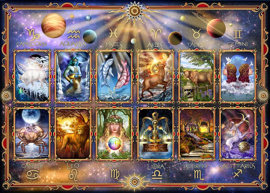 Tarot Horoscope Cards by Ciro Marchetti