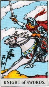 Knight of Swords Tarot Card Meaning