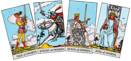 Tarot Card Interpretations - Swords