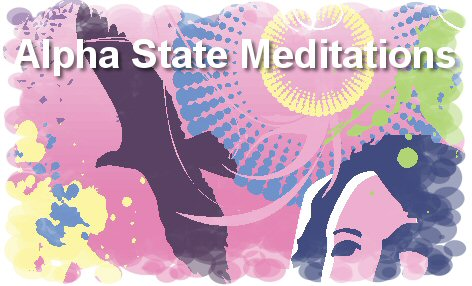 alpha state meditation