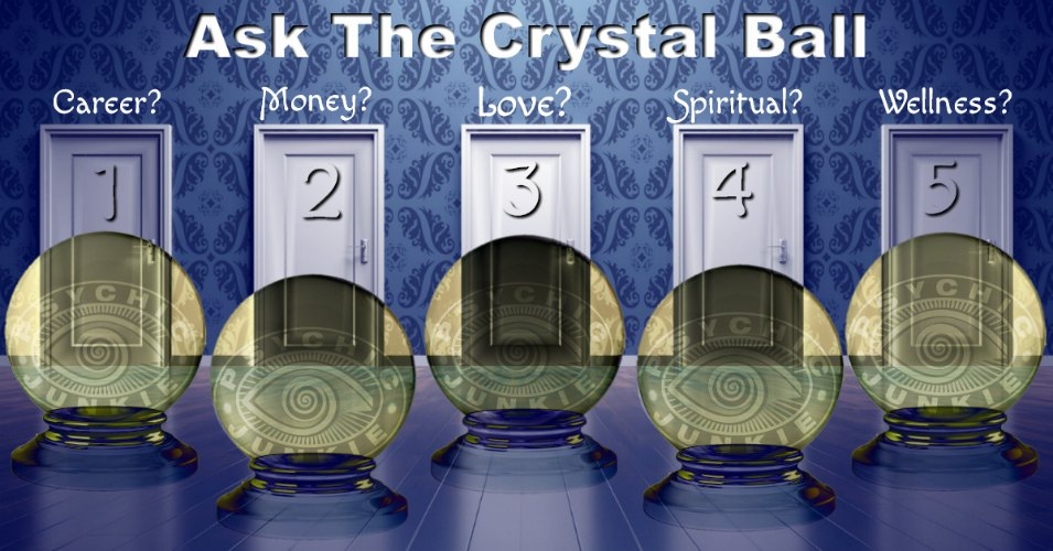Ask Magic Crystal Balls on Facebook
