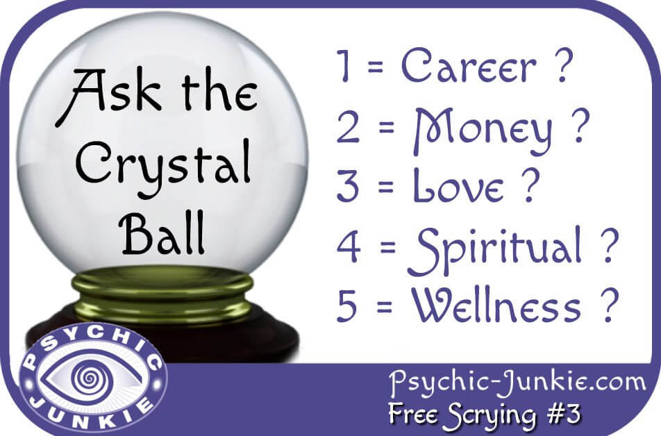 Ask the Online Crystal Ball on Facebook