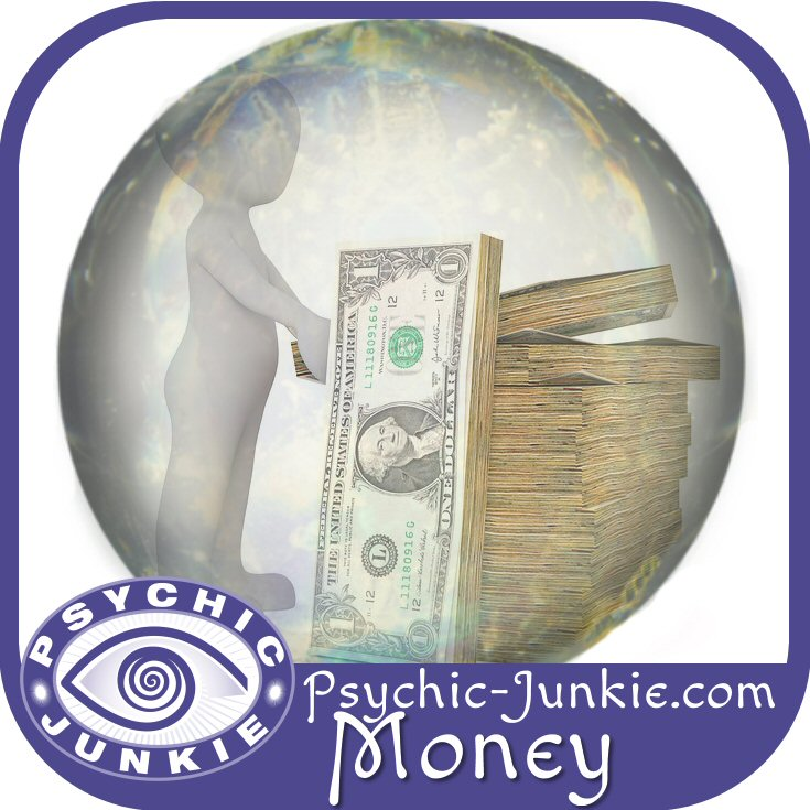 Psychics answer questions about money