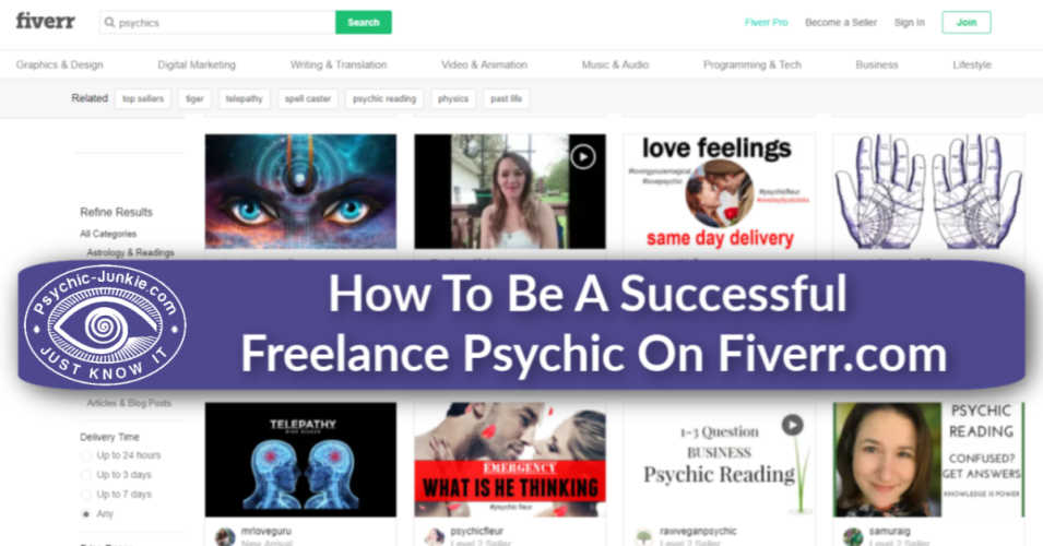 How To Be A Great Fiverr Psychic and Tarot Reading Freelancer