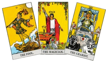 how to read tarot cards of the major arcana