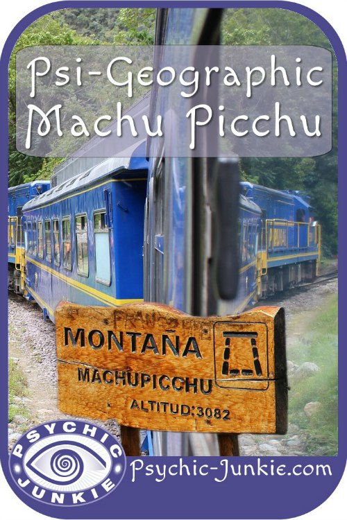 Psi-Geographic Machu Picchu