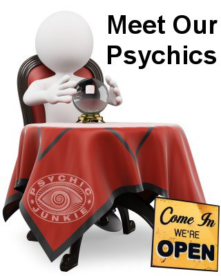 Meet Our Psychics