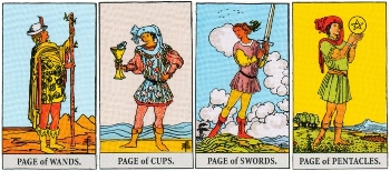 Minor Arcana Meanings - Pages