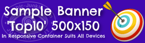 Sample Banner in Responsive Container