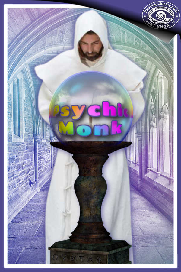 This Psychic Monk Is A Very Happy Medium