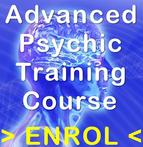 Advanced Psychic Training Course Enrolmen