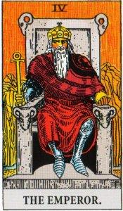 Card Three IV - The Emperor - Authority