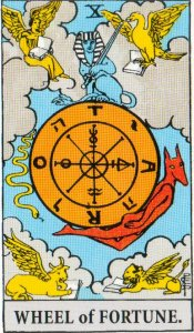 A TarotVision of the Wheel Of Fortune