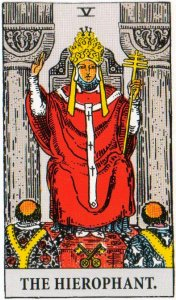 A TarotVision of the Hierophant