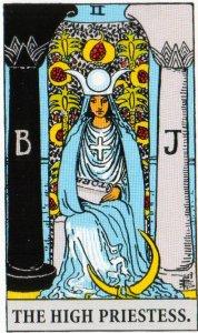 A TarotVision of the High Priestess