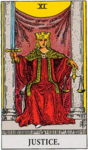 A TarotVision of Justice