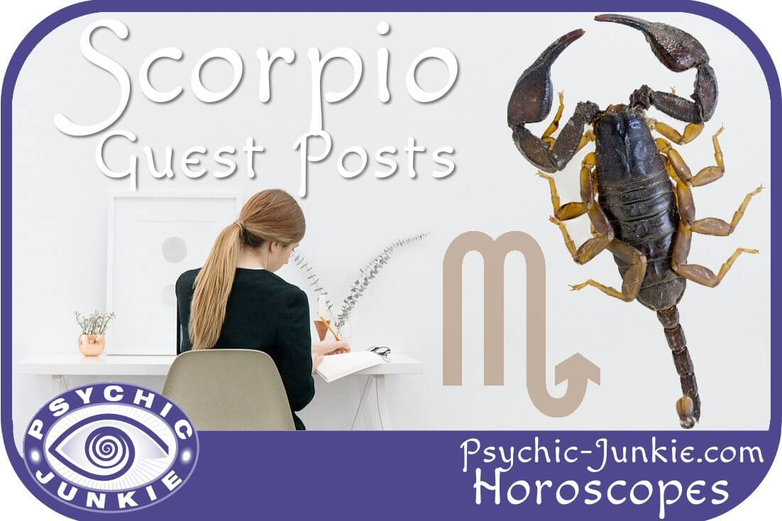 Scorpio Horoscope Guest Posts