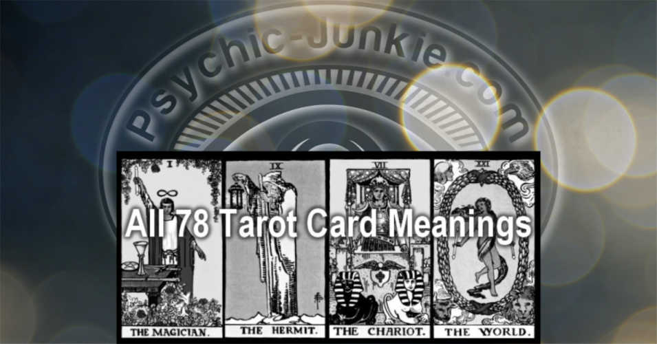 Tarot card meanings of the world