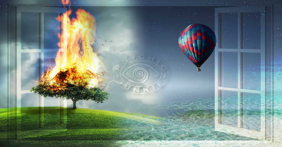 What are the four elements of Fire, Water, Air and Earth revealing in Astrology and Tarot
