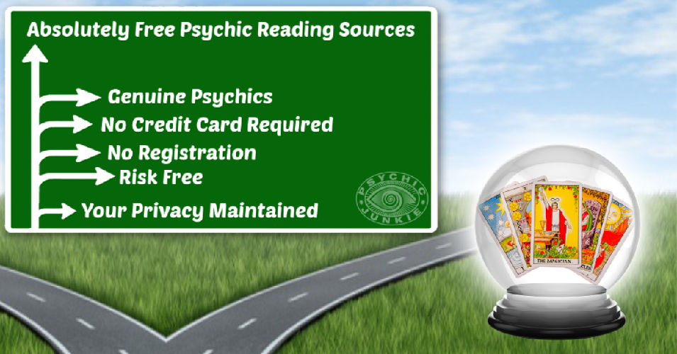 Proven and Absolutely Free Psychic Reading Opportunities