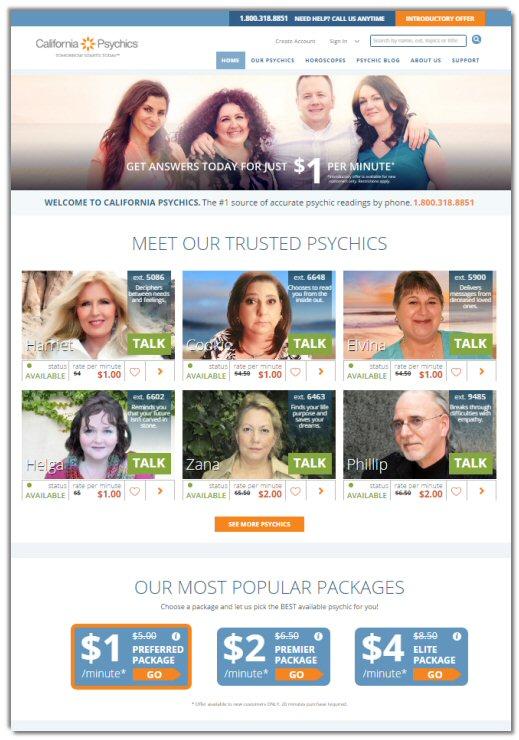 California Psychics Network