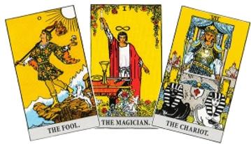 how to read tarot cards of the major arcana