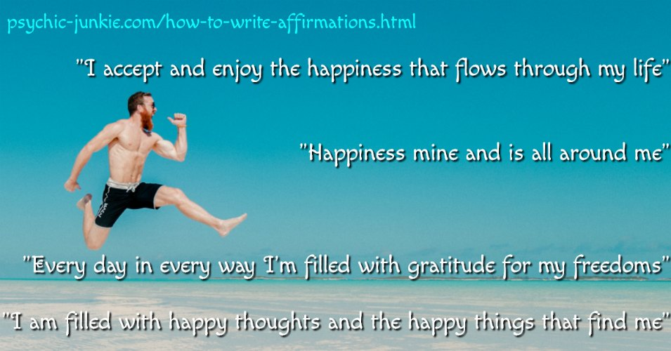 How to Write Attractive Affirmations