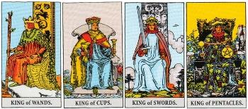 Minor Arcana Meanings - Kings