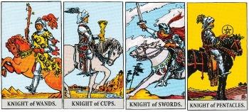 Minor Arcana Meanings - Knights