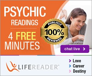4 Free Minutes with LifeReader Psychics