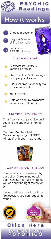 Meet Our Psychics