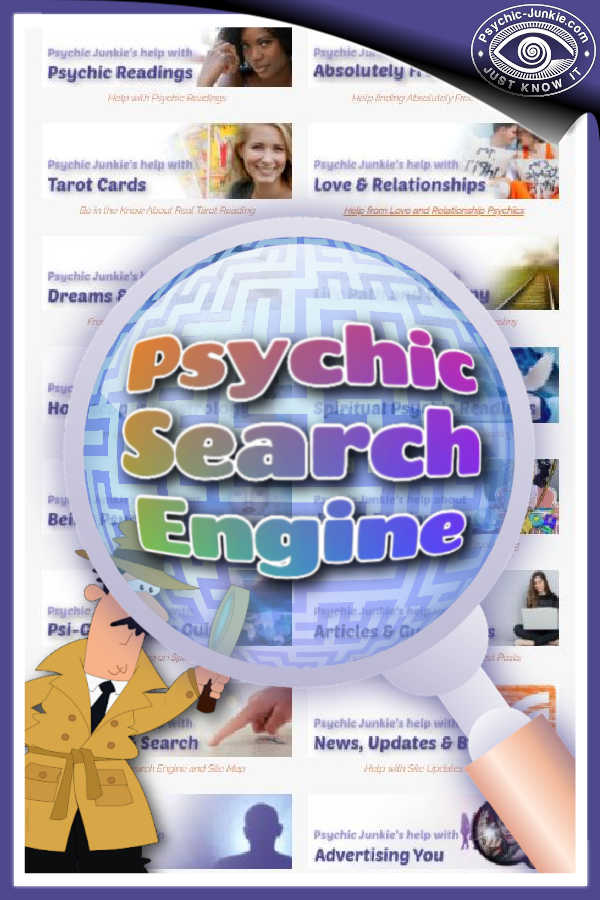 psychic search engine