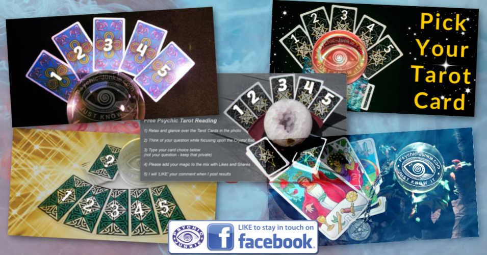To participate in this offer you will need to know how to get my free psychic tarot readings showing up in your Facebook feed.